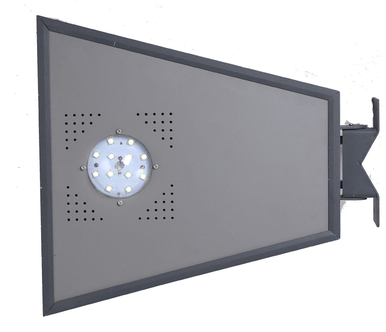 型号:劲辉照明一体化太阳能路灯JH-004 高度:2.5-4.5米 光源:LED光源5W/10W,色温3300-6500K 材质:灯具压铸铝,灯杆整体热镀锌防腐灯杆 太阳能板:单晶硅/多晶硅20-30W 蓄电池:12V免维护锂电池 亮灯时间:每天8小时左右,抵抗阴雨天3-5天 使用寿命:光源>50000小时,整灯>20年 具体参数配置可根据实际使用需求进行配置组合     节能:它利用自然光源,无需消耗电能 环保:采用LED灯具符合绿色环保要求,无污染、无辐射,保护生态; 安全:由于产品不