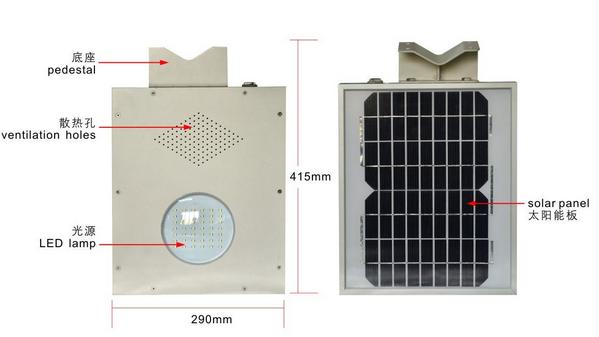 太阳能一体式路灯