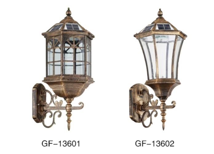 太阳能壁灯gf-13601
