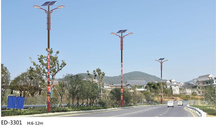 太阳能led路灯在安全上有更大的保障