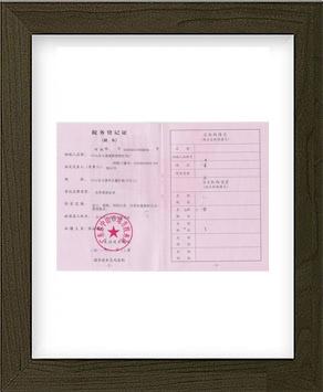 劲辉·地税税务登记证