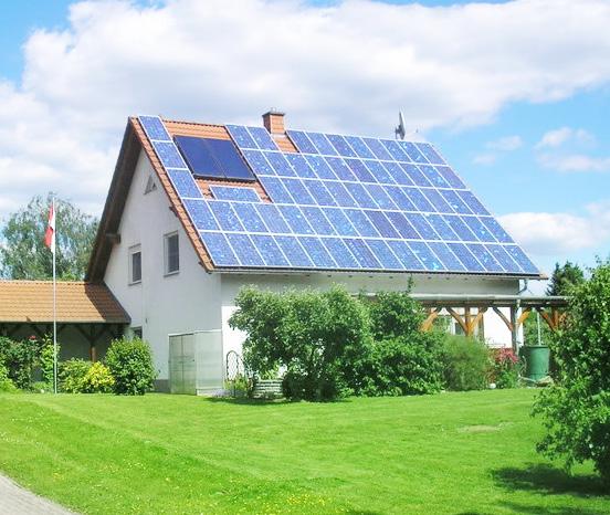 家庭太阳能发电系统