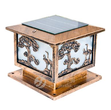 太阳能柱头灯JH-004