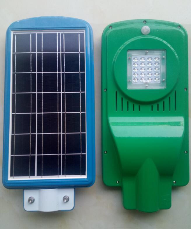 一体化太阳能路灯JH-007(20W)