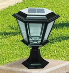 太阳能柱头灯GF-13501