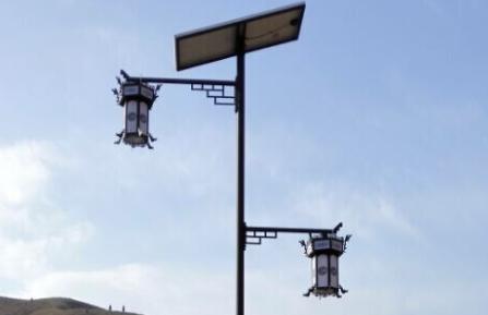 【案例】太阳能庭院灯照亮美丽陕西商洛