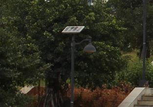 【案例】校园太阳能庭院灯照明工程