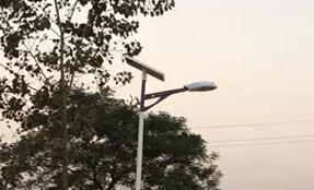 【案例】新农村太阳能路灯照亮红花乡
