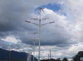 【案例】外国风光互补路灯照明工程