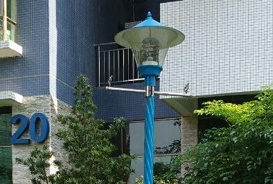 【案例】广东韶关乐昌小区庭院灯