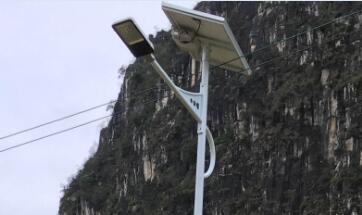 广西太阳能路灯崇左扶绥新宁镇那宽村太阳能路灯6米30瓦