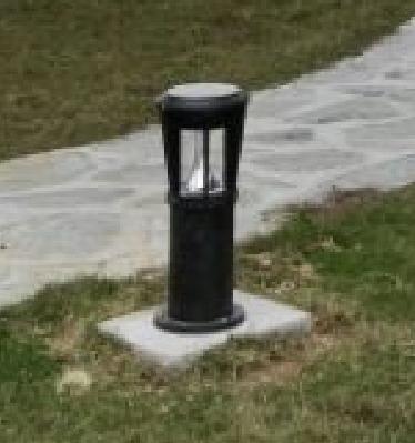 【案例】福建厂区太阳能草坪灯景观照明工程