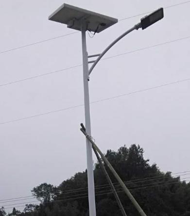 广西柳州市三江县一事一议太阳能路灯项目