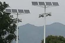 【案例】校园太阳能路灯工程太阳能球场灯