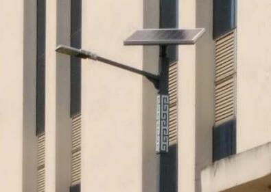 【案例】云南省普洱公安局4米太阳能路灯