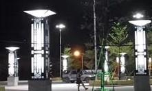 【案例】广场景观灯工程广东江门