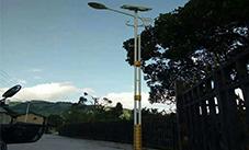 【案例】云南昆明民族特色太阳能路灯照明工程