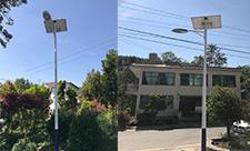 【案例】贵州省盘州市农村太阳能路灯安装
